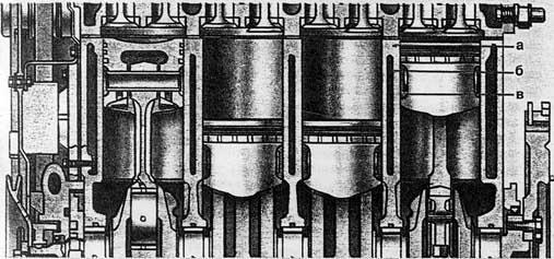 двигателя ВАЗ - 2108: